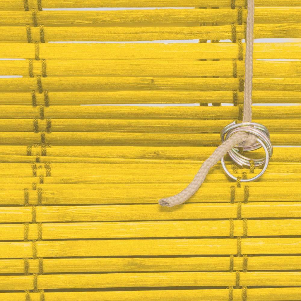 Store-bateau-en-bambou-pour-l-039-interieur-corde-rideaux-stores-romains-VICTORIA-M miniature 25