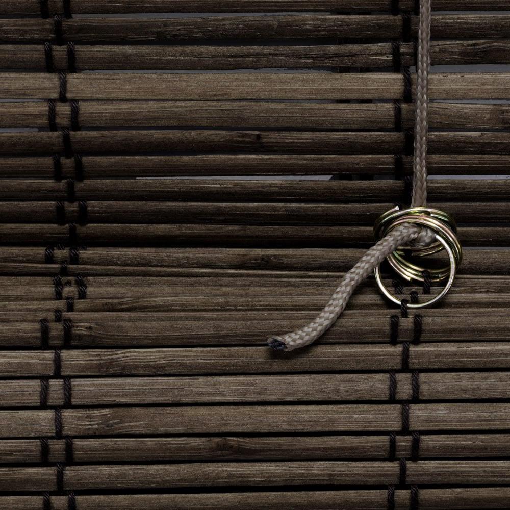 Store-bateau-en-bambou-pour-l-039-interieur-corde-rideaux-stores-romains-VICTORIA-M miniature 17