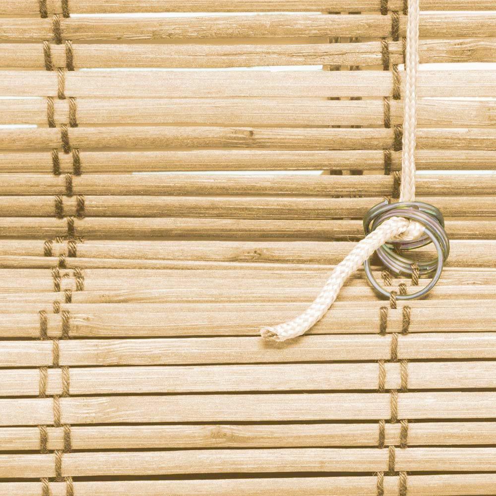 Store-bateau-en-bambou-pour-l-039-interieur-corde-rideaux-stores-romains-VICTORIA-M miniature 41