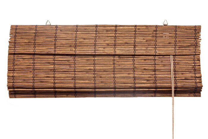 bambusrollo bambus raffrollo faltrollo holzrollo sichtschutz bambusjalousie ebay. Black Bedroom Furniture Sets. Home Design Ideas