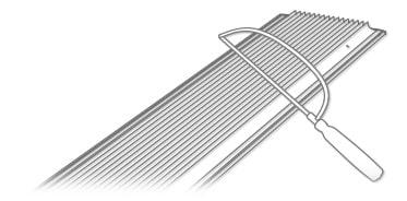 plissee standard zum klemmen blickdicht ohne bohren plisseerollo klemmfix rollo ebay. Black Bedroom Furniture Sets. Home Design Ideas