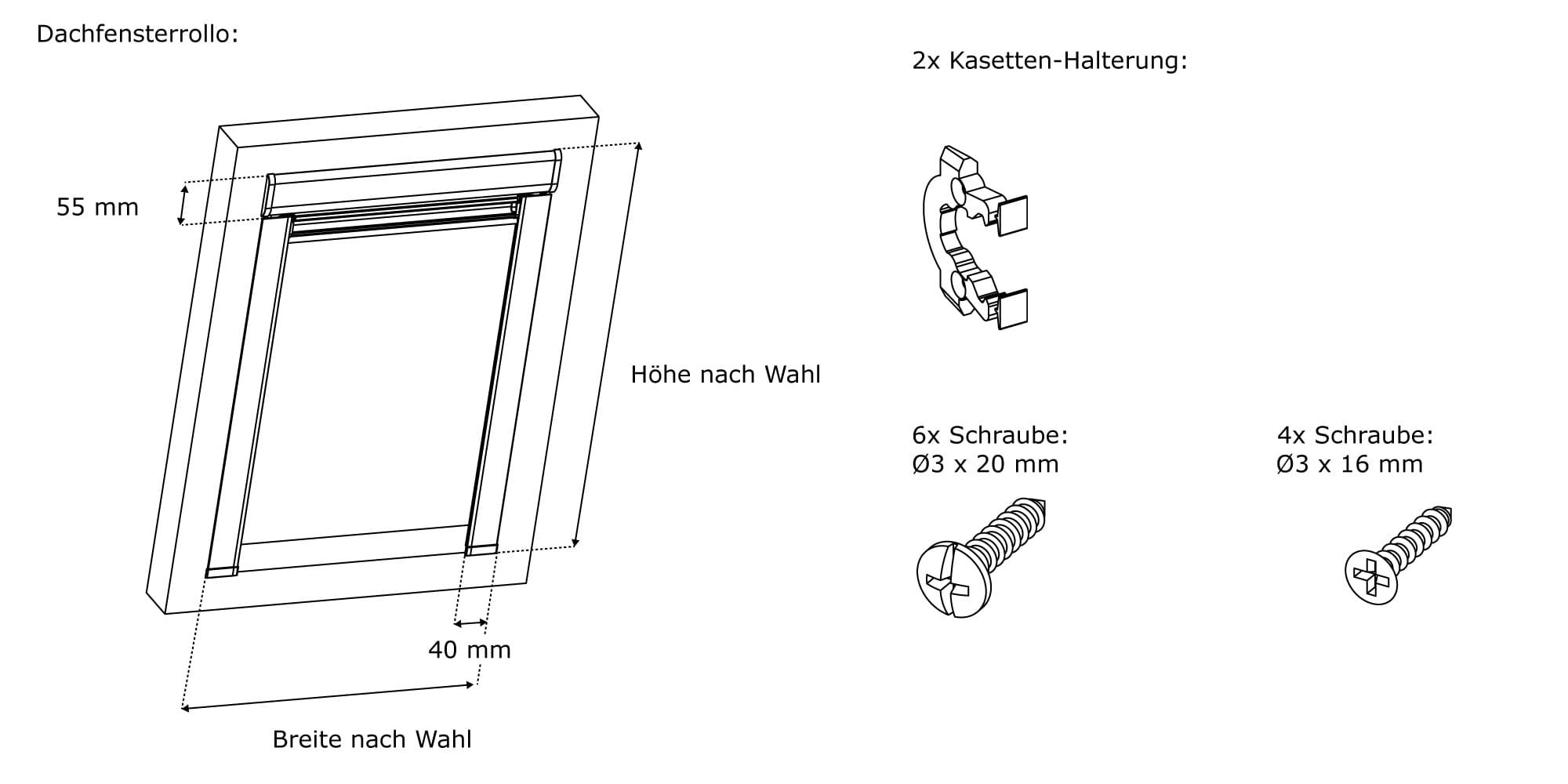 verdunkelungsrollo passend f r velux dachfenster thermo rollo von victoria m ebay. Black Bedroom Furniture Sets. Home Design Ideas