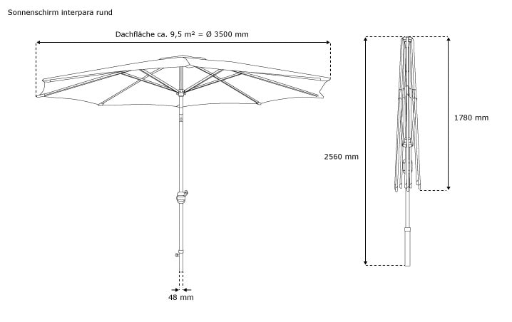 gartenschirm quadratisch 3x3m sonnenschirm balkonschirm marktschirm sonnenschutz ebay. Black Bedroom Furniture Sets. Home Design Ideas