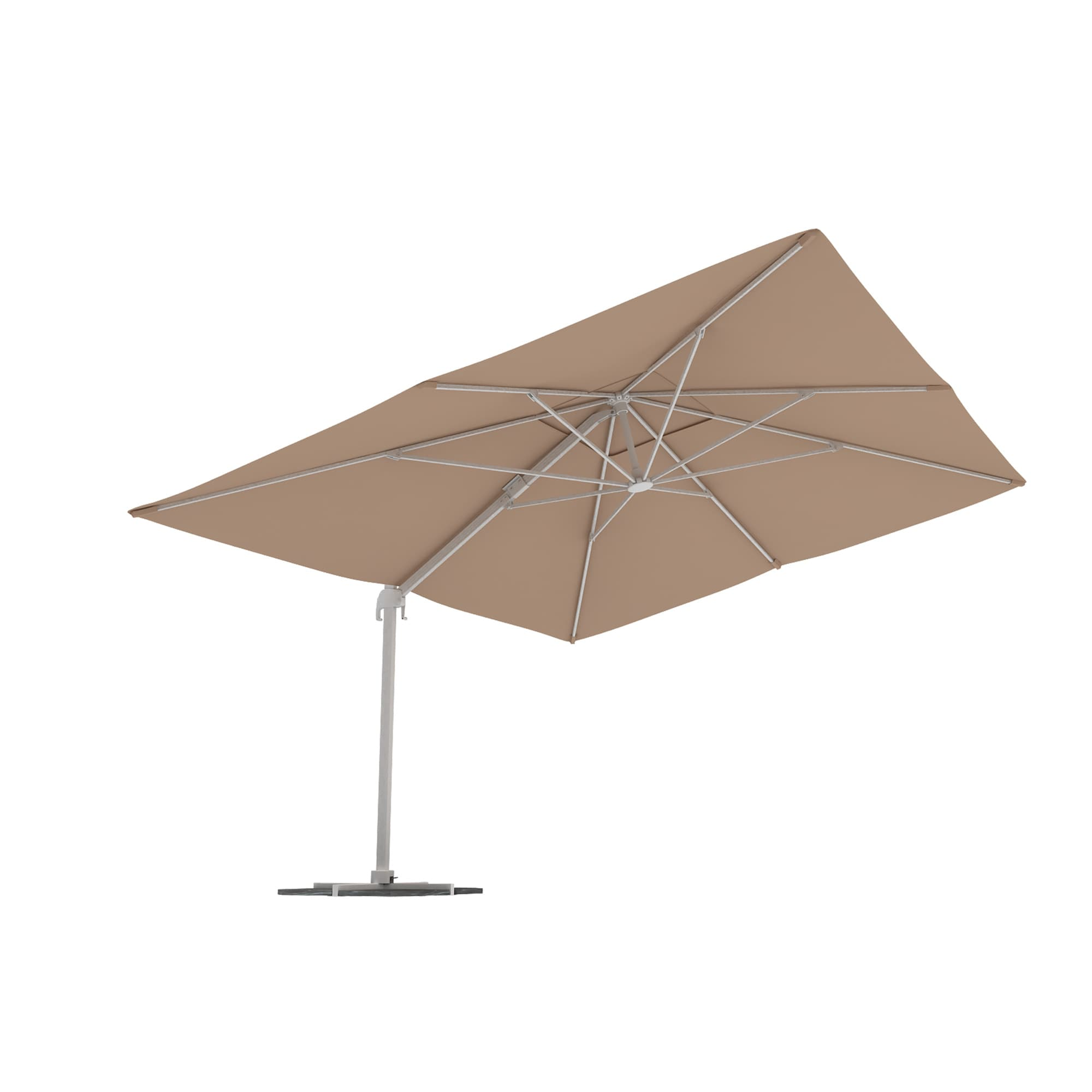 parasol d port paramondo parapenda m t excentr rond 3 5m rectangulaire 4x3m ebay. Black Bedroom Furniture Sets. Home Design Ideas