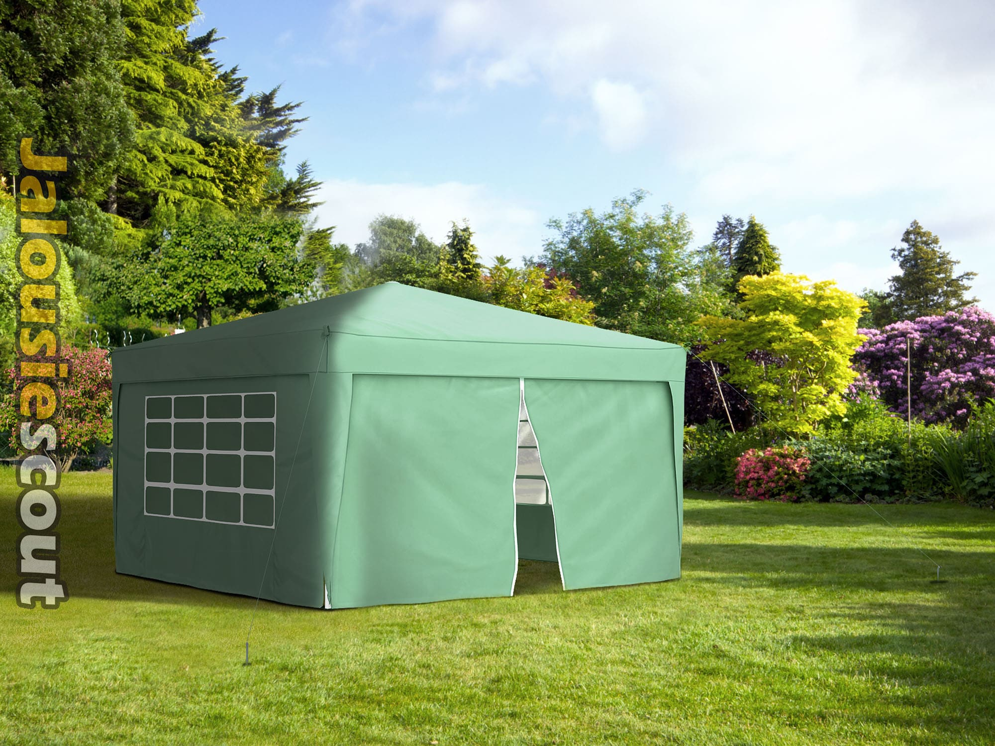 jarolift pavillon gartenzelt gartenpavillon faltpavillon. Black Bedroom Furniture Sets. Home Design Ideas