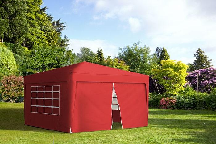jarolift pavillon 3x3m gartenzelt partyzelt festzelt faltpavillon wasserdicht ebay. Black Bedroom Furniture Sets. Home Design Ideas