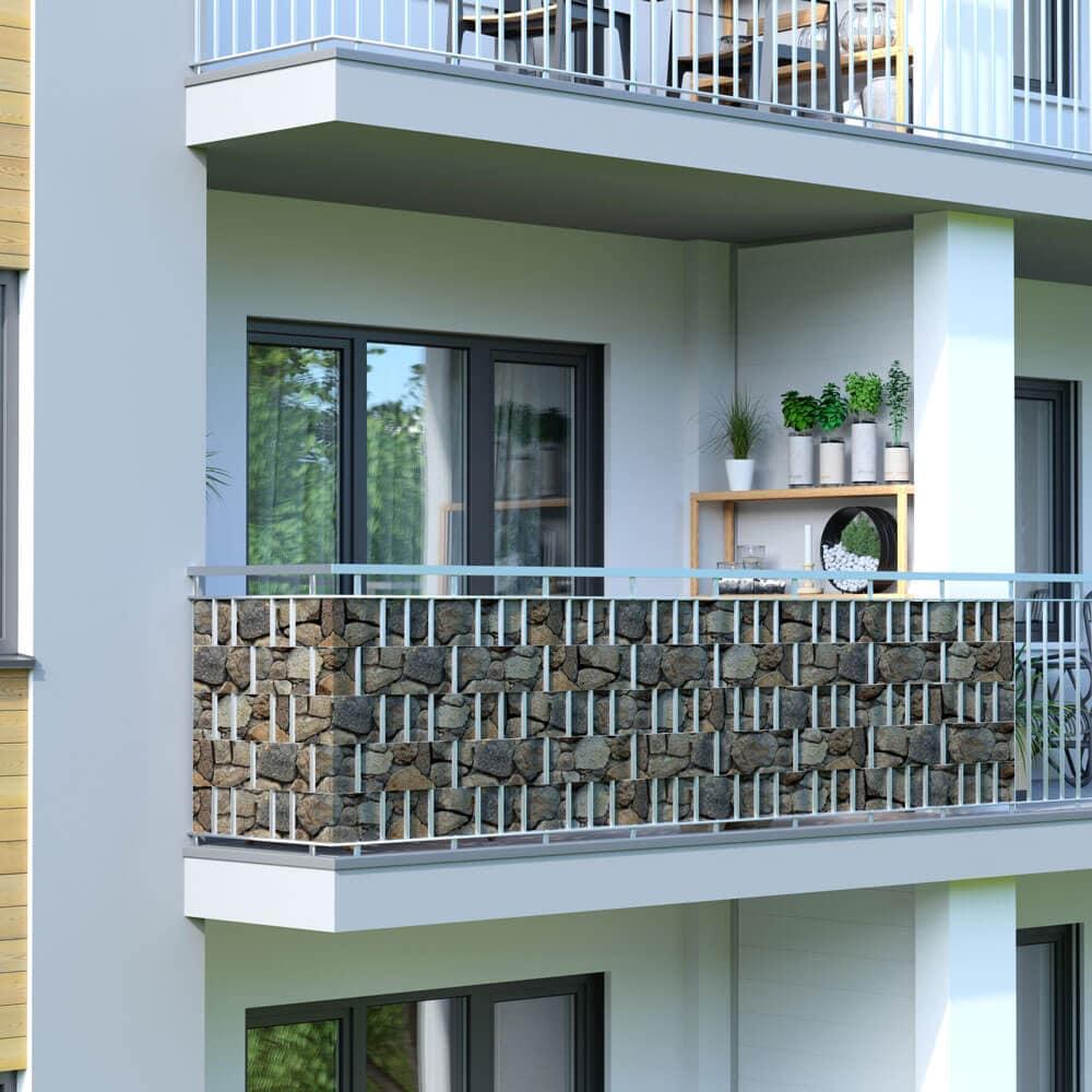 brise vue rouleau pour cl ture pvc protection visuelle. Black Bedroom Furniture Sets. Home Design Ideas