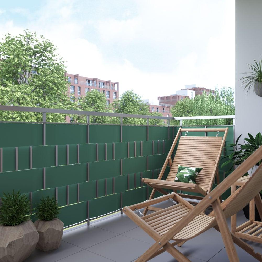Brise-vue rouleau pour clôture PVC protection visuelle jardin pare ...