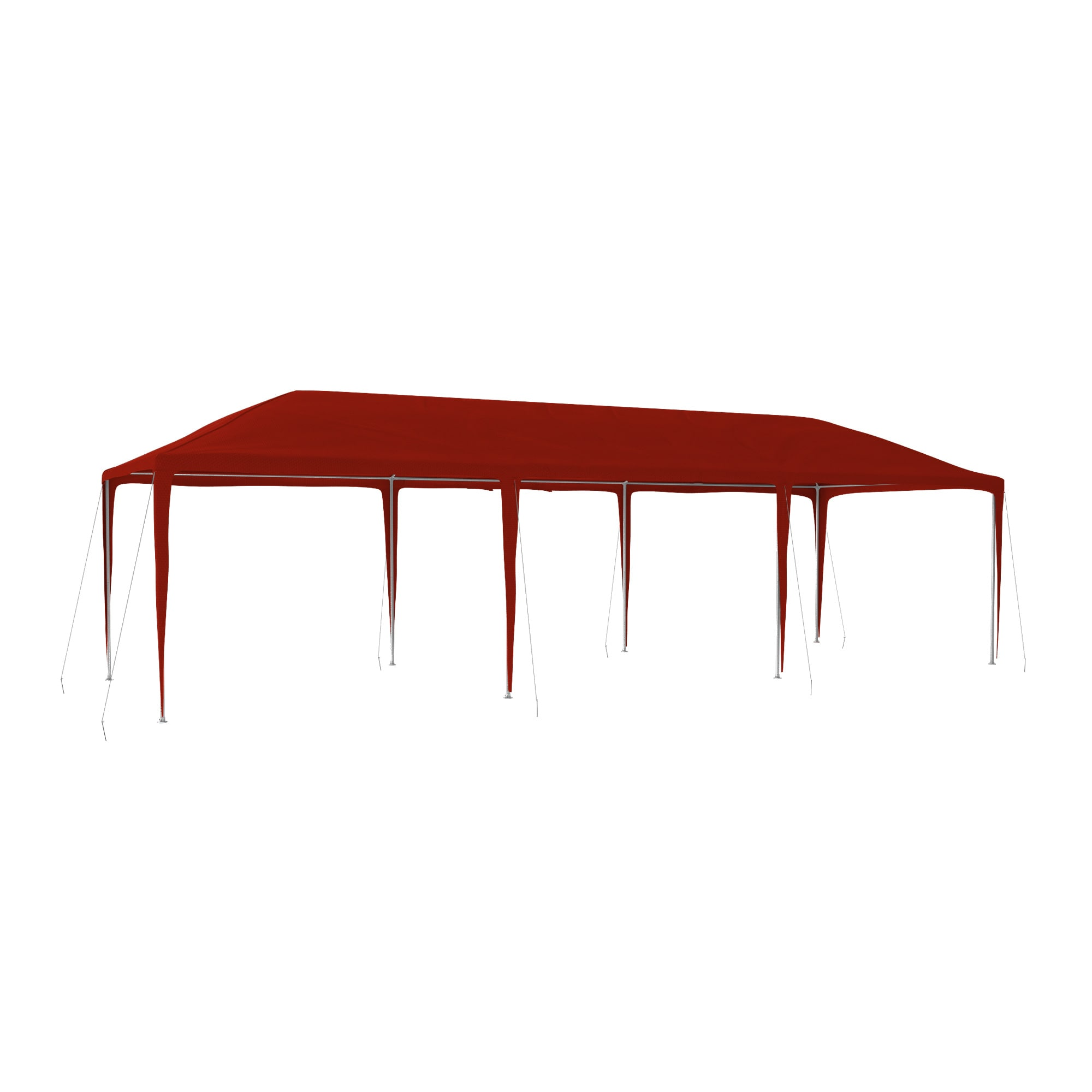 pe pavillon 3x3 3x6 3x9 wasserdicht rot festzelt partyzelt gartenpavillon zelt ebay. Black Bedroom Furniture Sets. Home Design Ideas