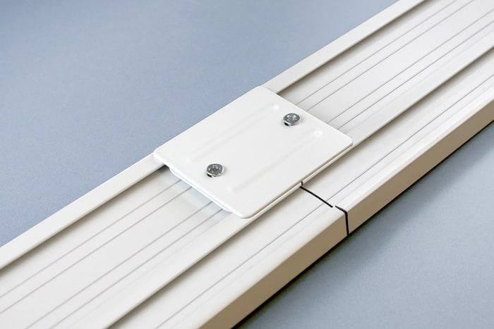 fl chenvorhang schiene 3 und 5 l ufig gardinenschiene. Black Bedroom Furniture Sets. Home Design Ideas