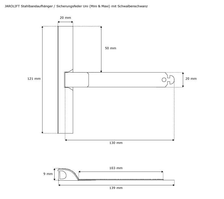 50er Set MAXI Aufhängefeder Rolladenmotor Rohrmotor Rolladen Fenster