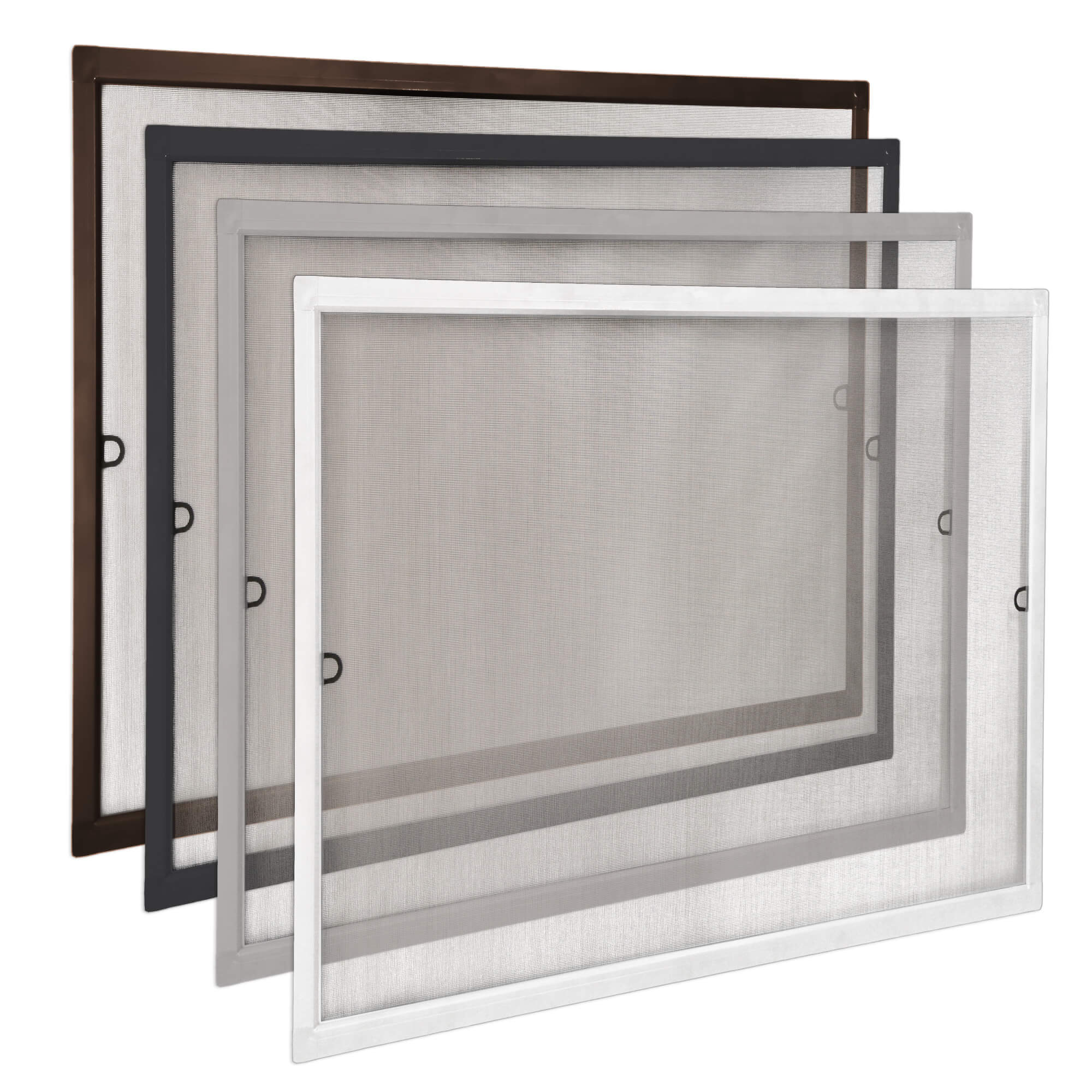 Insektenschutz Schiebe Fenster Fliegengitter M/ückenschutz weiss 75 x 100 cm