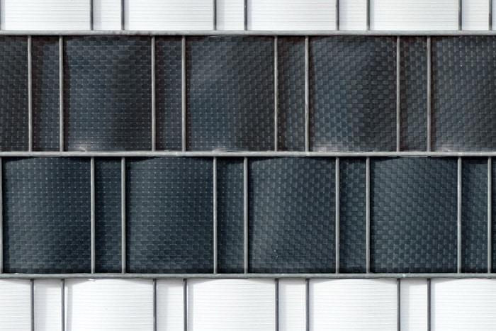 doppelstabmatten sichtschutz im rattan look kaufen. Black Bedroom Furniture Sets. Home Design Ideas