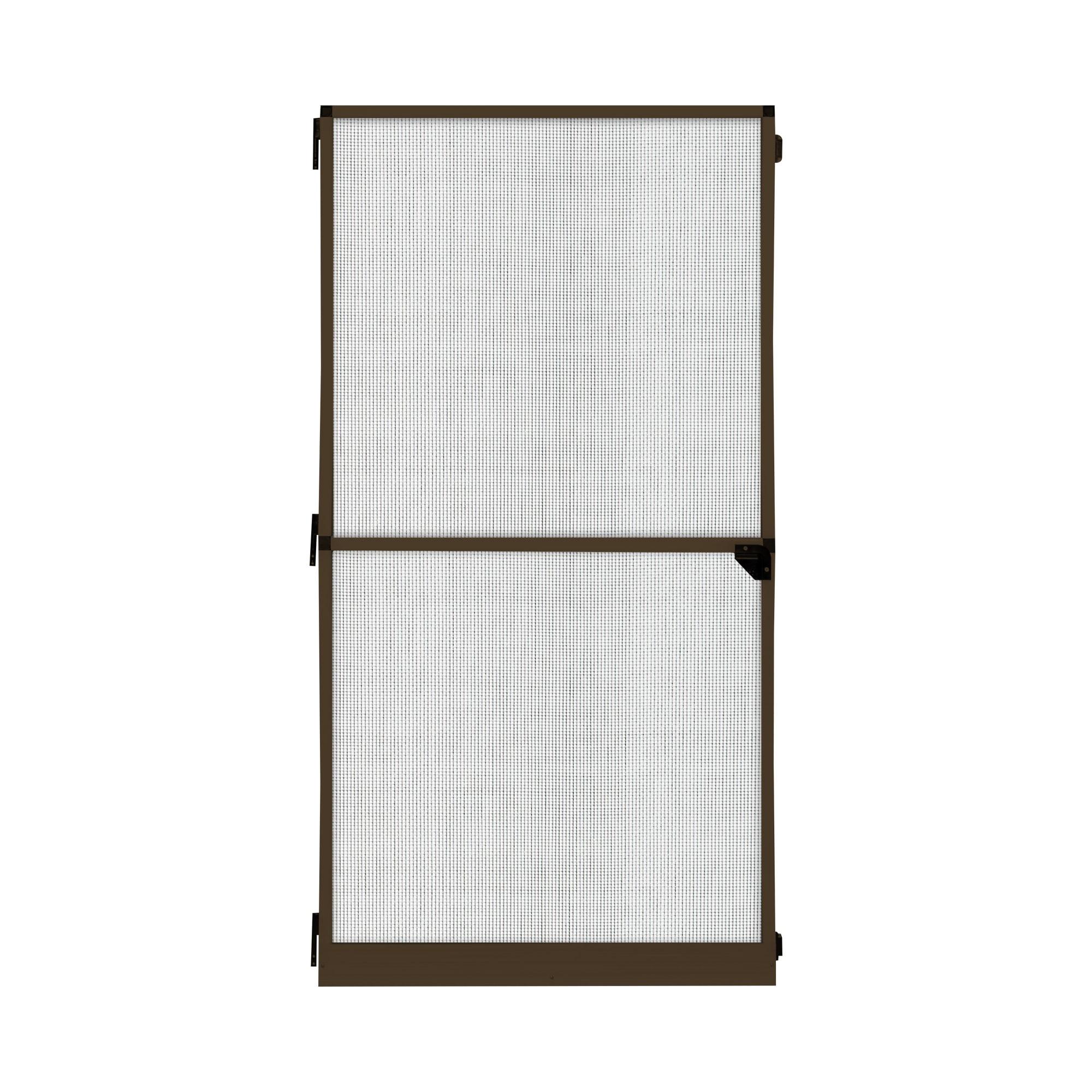 Fliegengitter-Tuerrahmen-Insektenschutz-Tuer-Drehrahmen-Rahmen-Tuergitter-120x220cm Indexbild 7