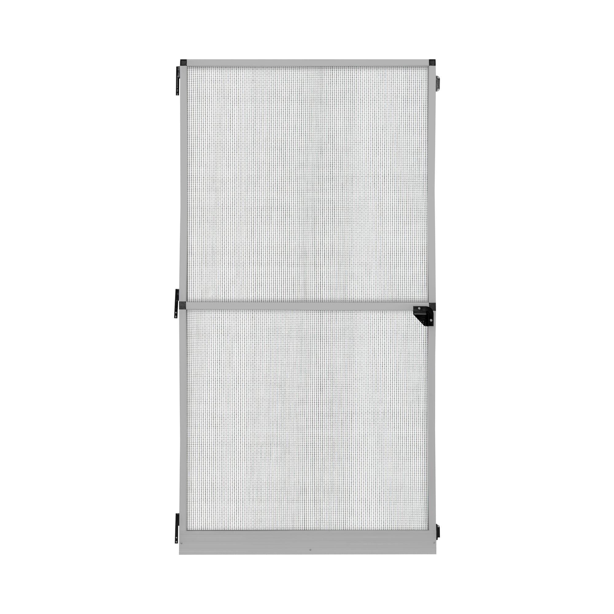 Fliegengitter-Tuerrahmen-Insektenschutz-Tuer-Drehrahmen-Rahmen-Tuergitter-120x220cm Indexbild 11