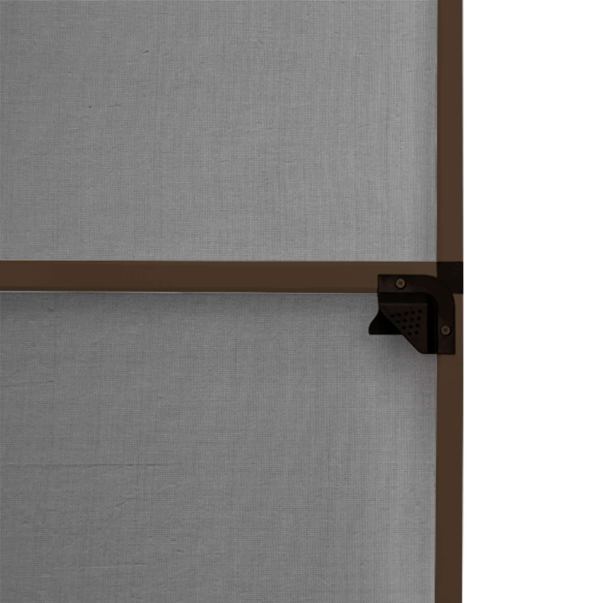 Fliegengitter-Tuerrahmen-Insektenschutz-Tuer-Drehrahmen-Rahmen-Tuergitter-120x220cm Indexbild 8