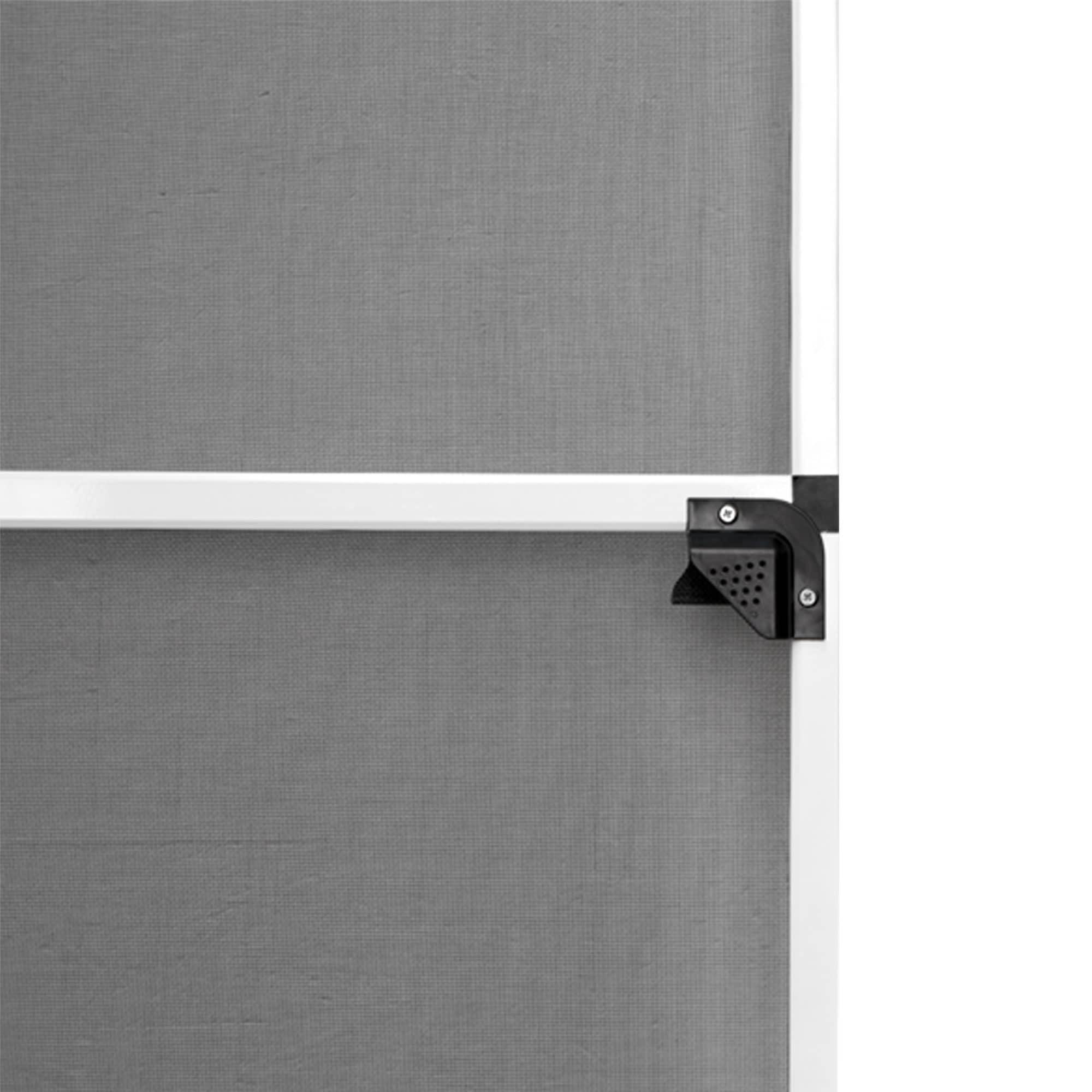 JAROLIFT Insektenschutz Tür Fliegengitter 120x220cm Rahmen Drehrahmen Drehtür