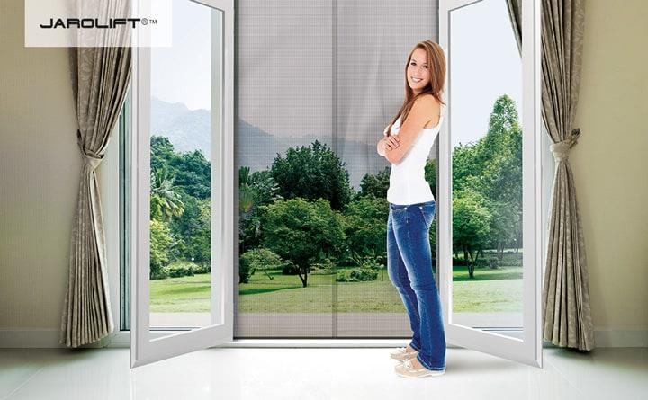 fliegenschutz vorhang fliegengitter t rvorhang. Black Bedroom Furniture Sets. Home Design Ideas