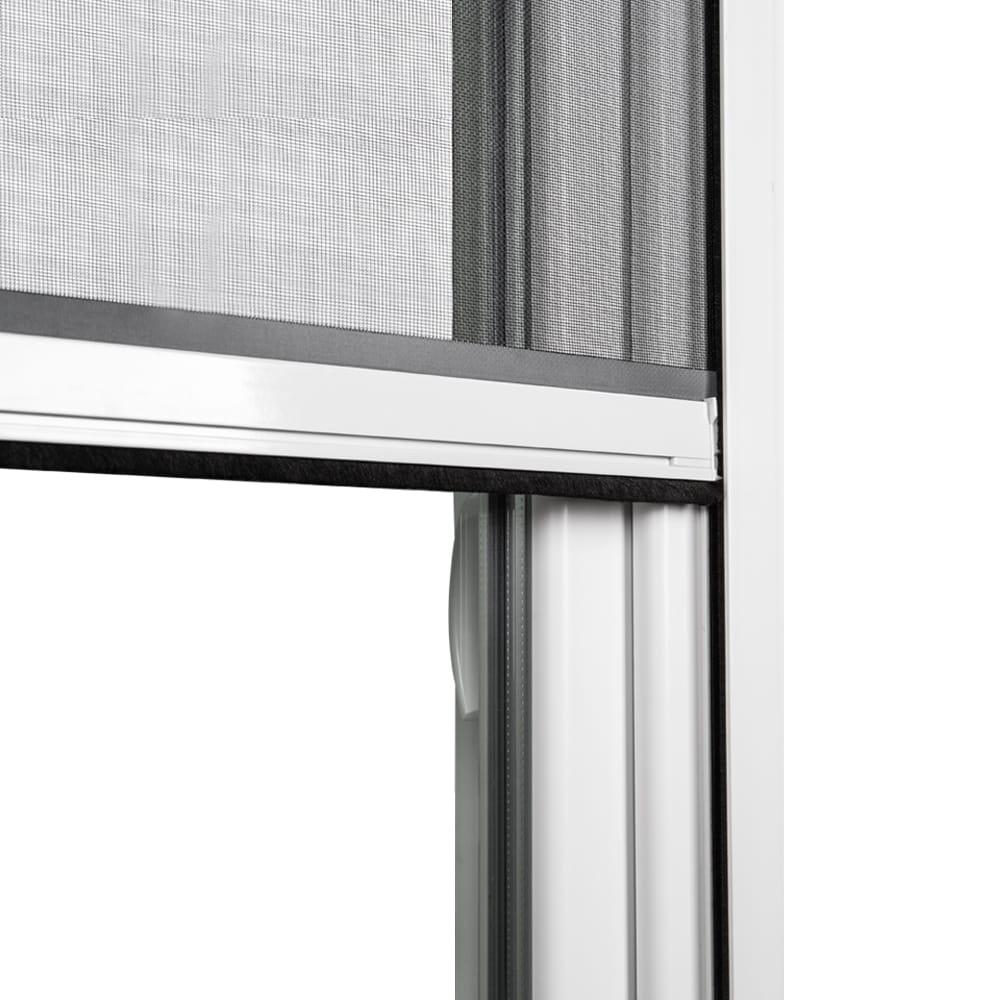fliegengitter rollo insektenschutzrollo m ckenschutz fenster pvc 100x140cm wei ebay. Black Bedroom Furniture Sets. Home Design Ideas