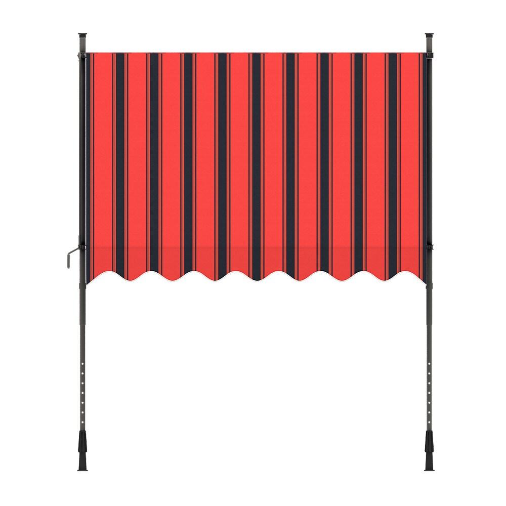 Markise-Balkonmarkise-Klemmmarkise-Garten-Sonnenschutz-einziehbar-ohne-Bohren Indexbild 11