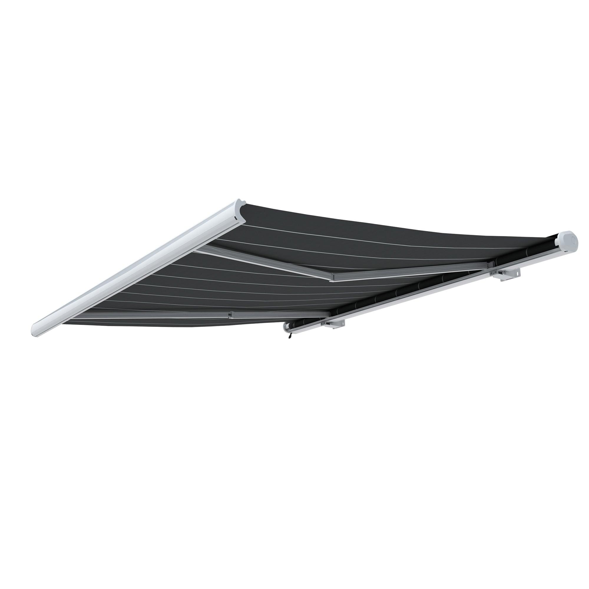 kassettenmarkise vollkassetten markise elektrisch funksteuerung paramondo curve ebay. Black Bedroom Furniture Sets. Home Design Ideas