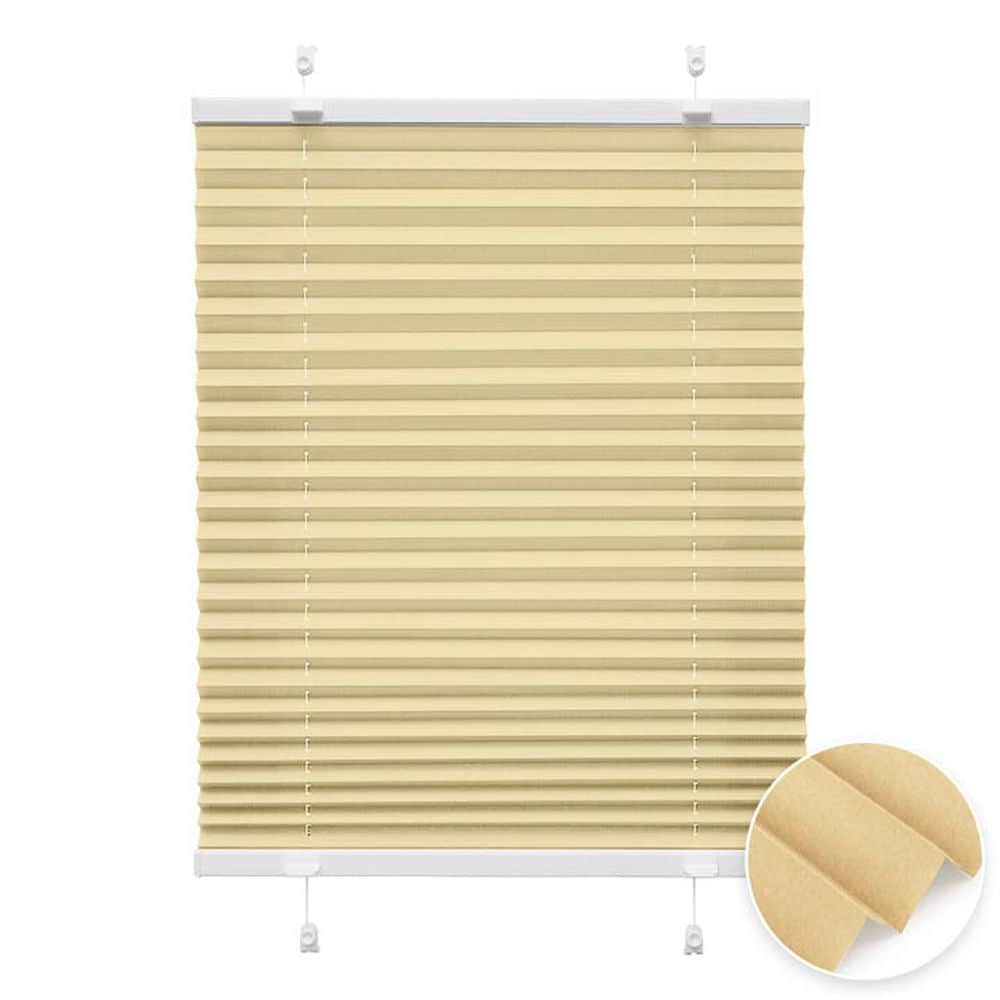 20000618 i2 creme - Estores plisados cortina plisada fijación sin taladrar VICTORIA M Indiva Lite