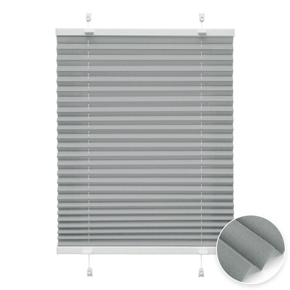 20000618 i2 grau - Estores plisados cortina plisada fijación sin taladrar VICTORIA M Indiva Lite