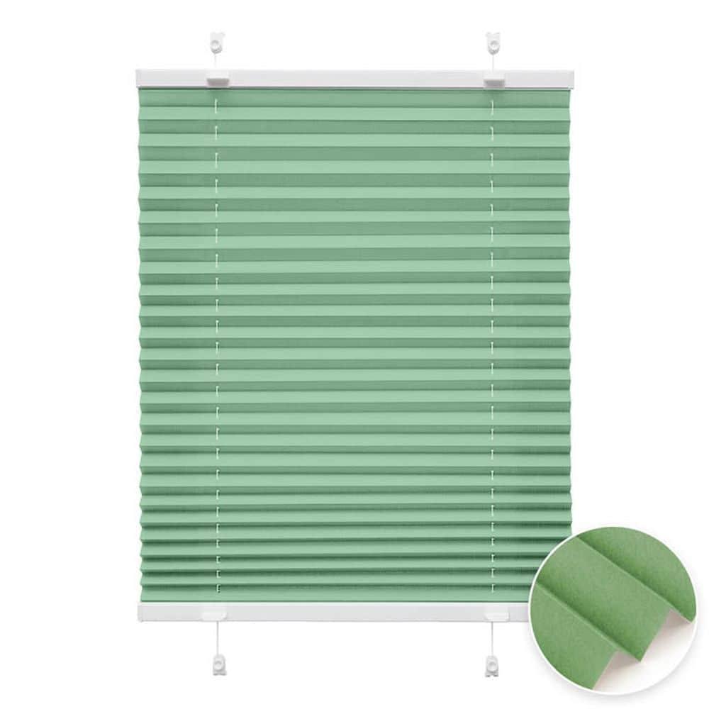 20000618 i2 gruen - Estores plisados cortina plisada fijación sin taladrar VICTORIA M Indiva Lite