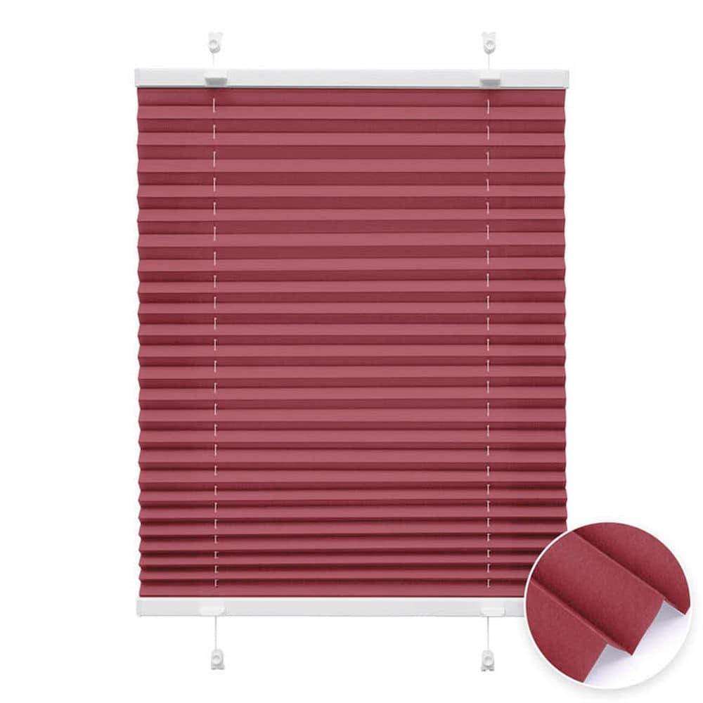 20000618 i2 rot - Estores plisados cortina plisada fijación sin taladrar VICTORIA M Indiva Lite