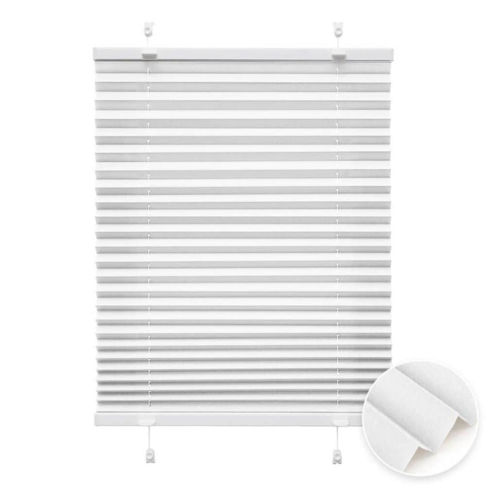 20000618 i2 weiss - Estores plisados cortina plisada fijación sin taladrar VICTORIA M Indiva Lite