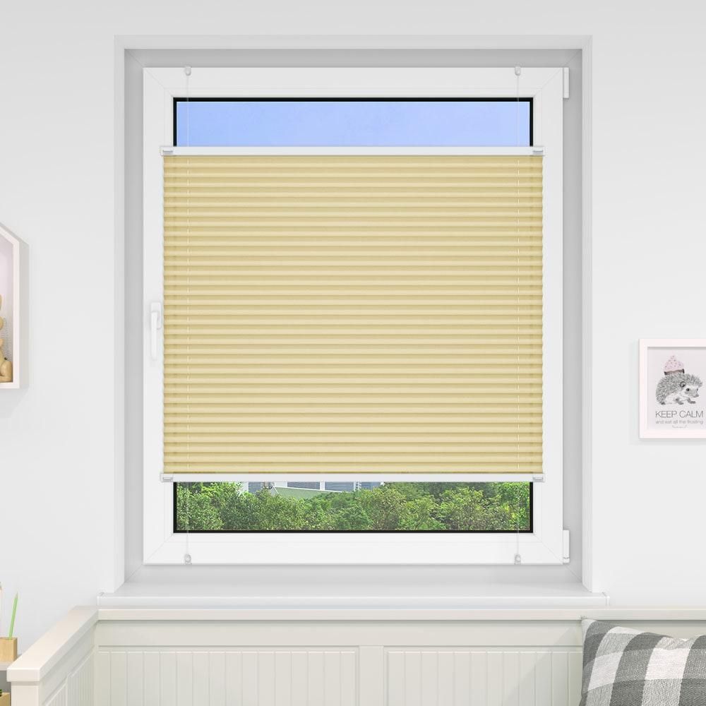 20000618 i5 creme - Estores plisados cortina plisada fijación sin taladrar VICTORIA M Indiva Lite