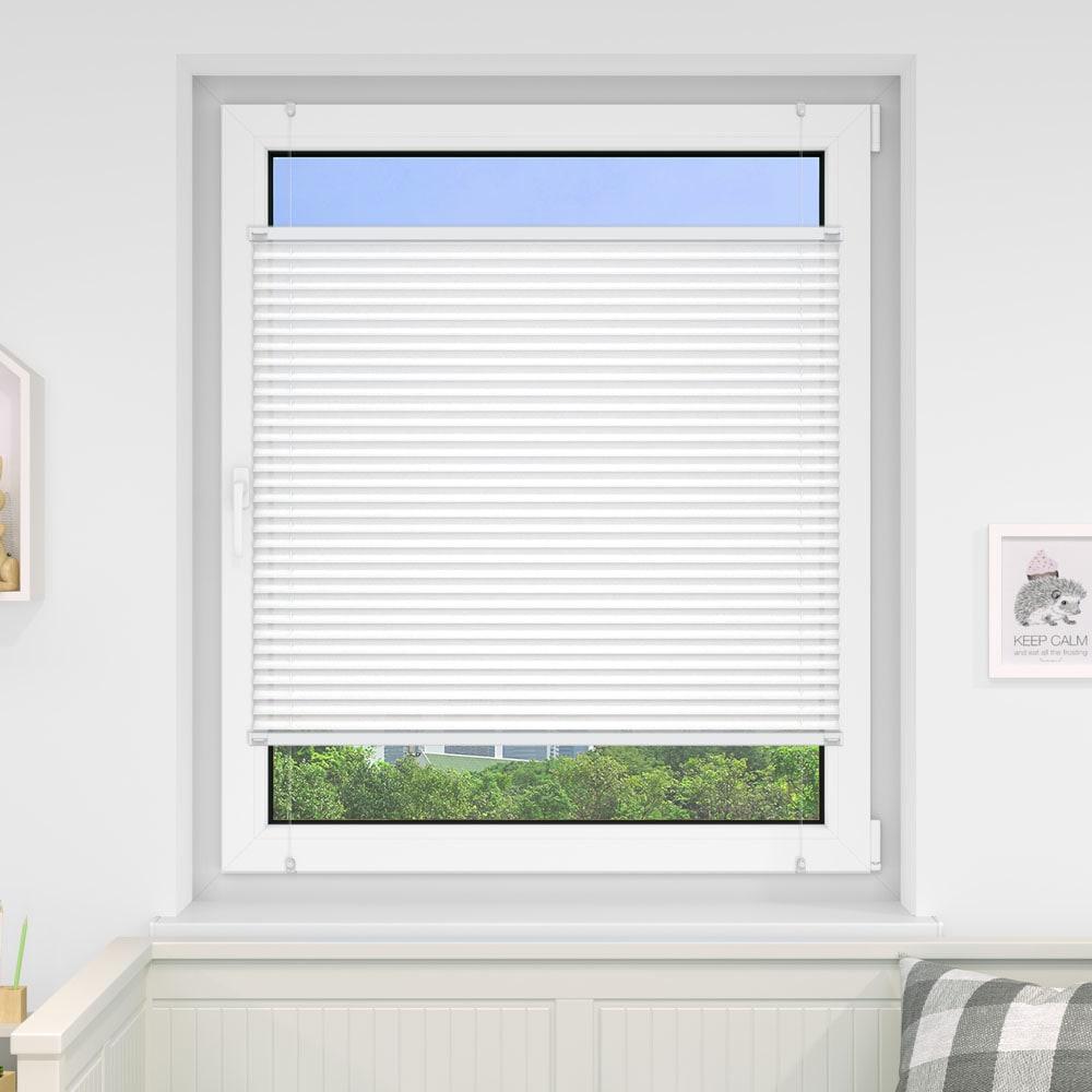20000618 i5 weiss - Estores plisados cortina plisada fijación sin taladrar VICTORIA M Indiva Lite