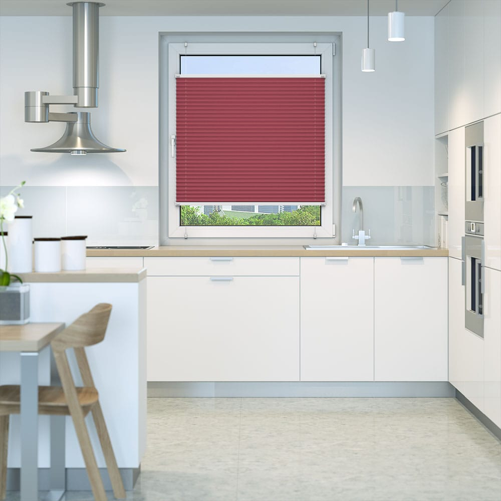 20000618 i6 rot - Estores plisados cortina plisada fijación sin taladrar VICTORIA M Indiva Lite