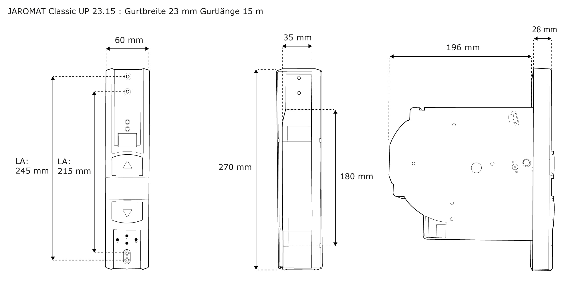 jarolift gurtwickler rolladen rollladen aufputz rollo elektrisch unterputz wei ebay. Black Bedroom Furniture Sets. Home Design Ideas