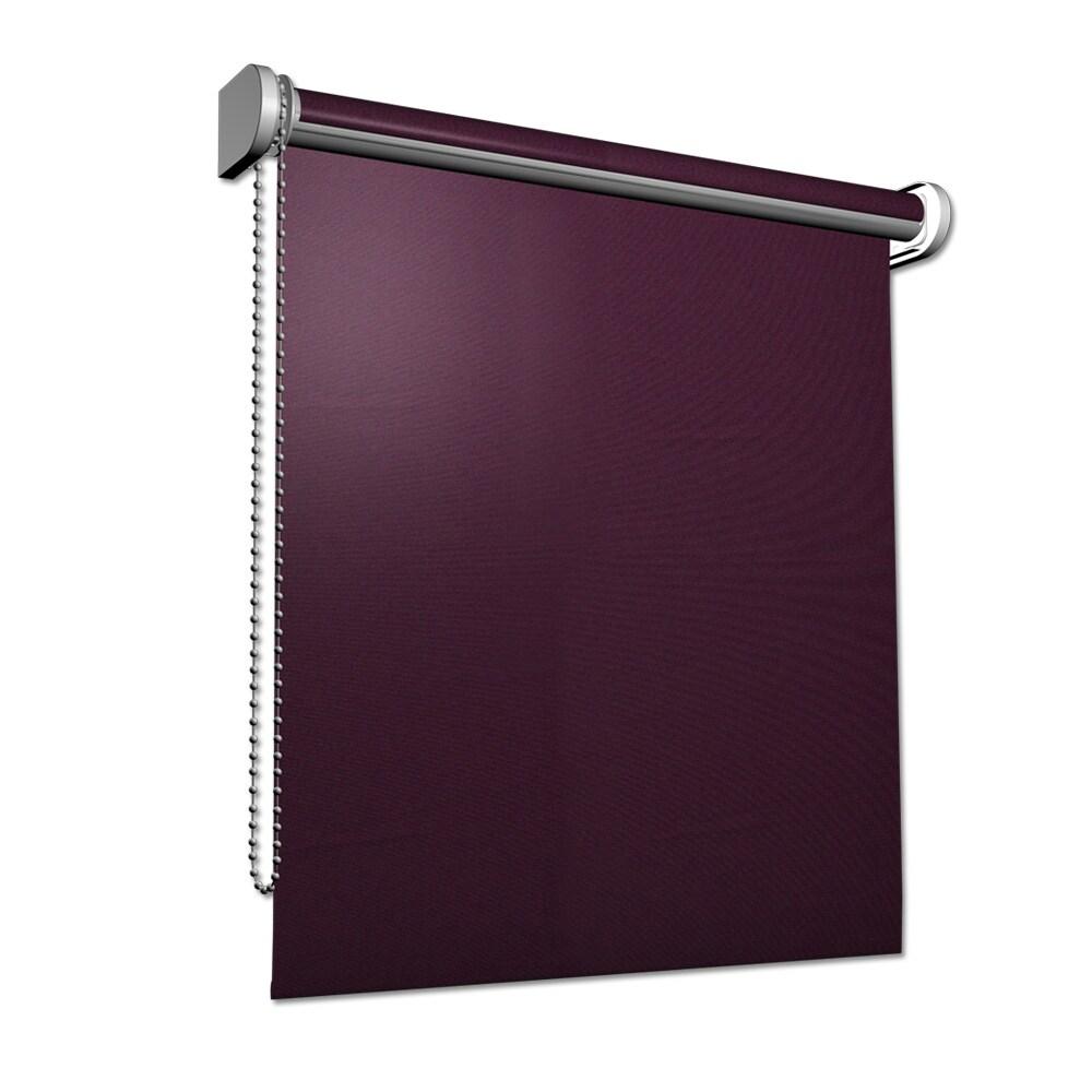 sichtschutz rollo blickdicht seitenzugrollo tageslicht kettenzugrollo fenster ebay. Black Bedroom Furniture Sets. Home Design Ideas