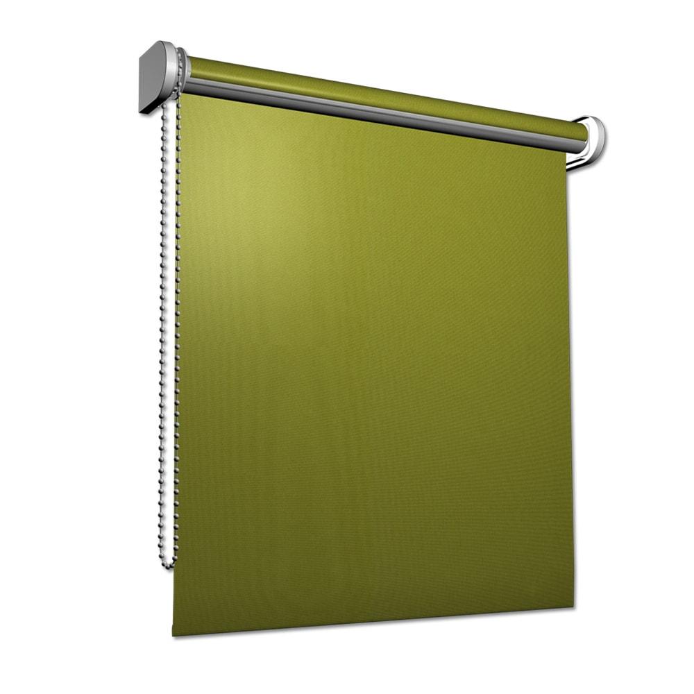 rollo in gr n kettenzug sichtschutzrollo optional als klemmrollo klemmfix rollo ebay. Black Bedroom Furniture Sets. Home Design Ideas
