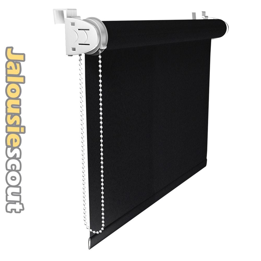 mini rollos abdunkelnd klemmhalter fensterrollo rollo kettenzug neu ebay. Black Bedroom Furniture Sets. Home Design Ideas