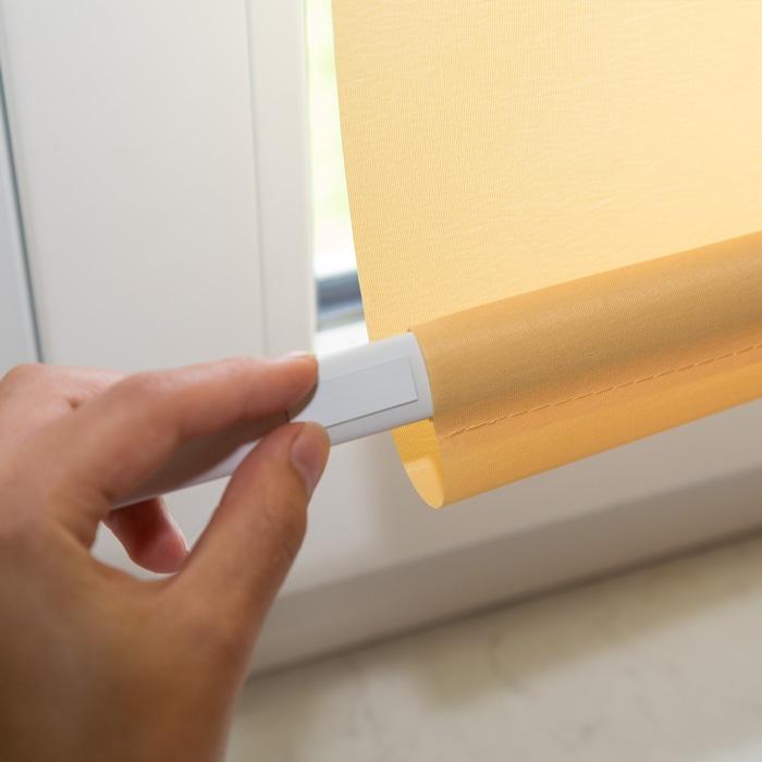 2 rollo magnethalter seitenzugrollo magnet o bohren rollomagnet 2er set ebay. Black Bedroom Furniture Sets. Home Design Ideas